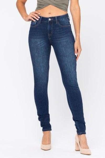Thermadenim Midrise Skinny Fit Judy Blue Jeans