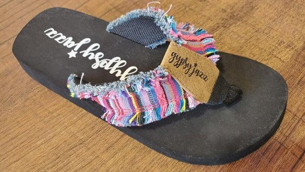 Gypsy Jazz Sandals - Pink Multi