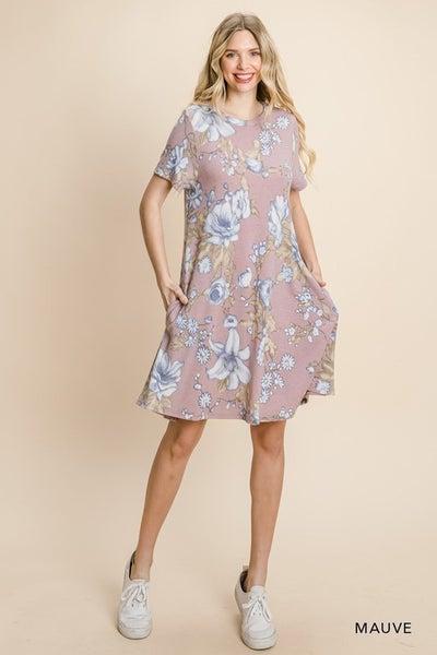 Sunday Brunch Floral Dress