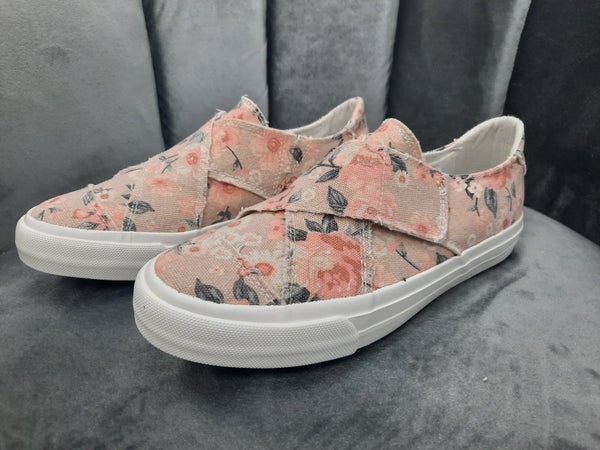 Gypsy Jazz Sneaker -- Pink Floral