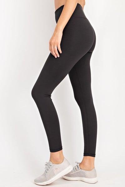 Full Length Premium Leggings - Black