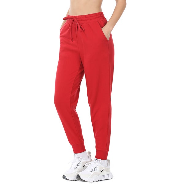 Jumping for Joy Jogger Pants - Red