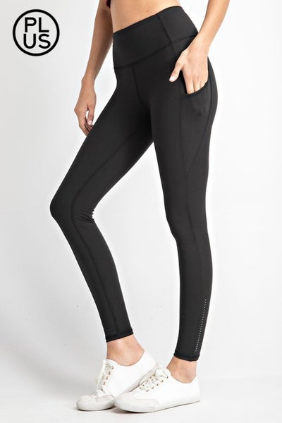 Premium Legging with phone pocket and Ankle Reflector