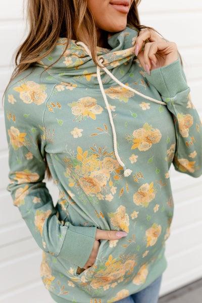 Fascinating Floral Ampersand Sweatshirt