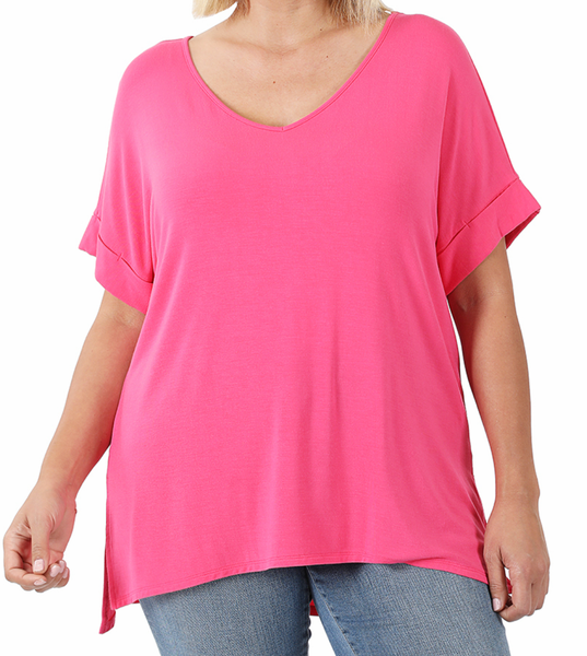 Your New Favorite Tee - Hot Pink