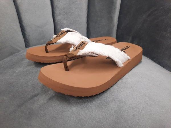 Gypsy Jazz Sandals -- White