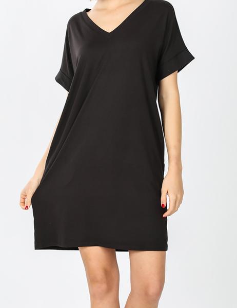 The Weekender Dress - Black