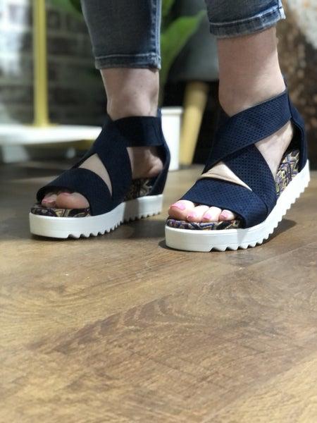 Very G Allie Wedge Sandal