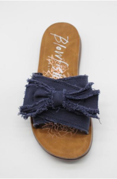 Blowfish Blue Bow Sandal
