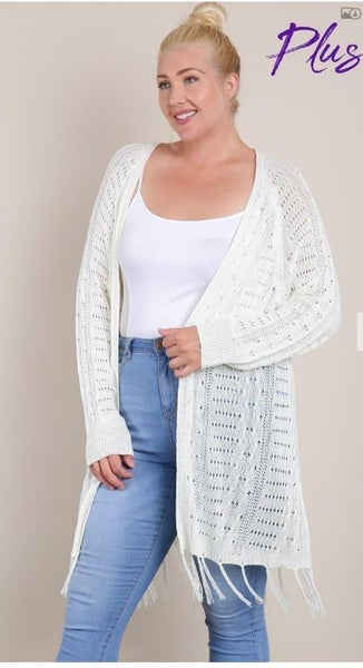 Famous Love Story Knitted Cardigan