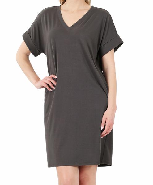 The Weekender Dress - Ash Grey