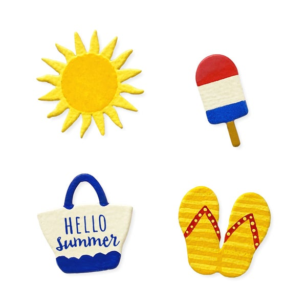 Roeda Hello Summer Magnets
