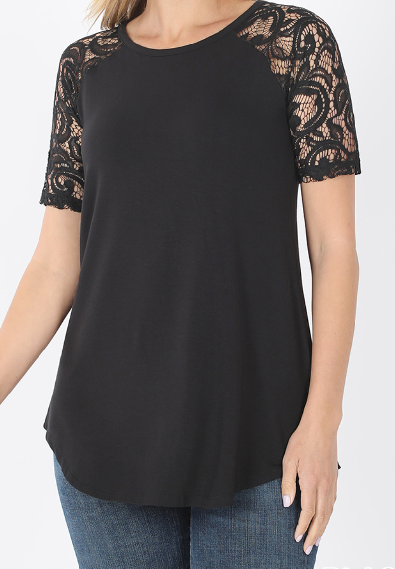 Deal of the Day! All I Ask Short Sleeve Top