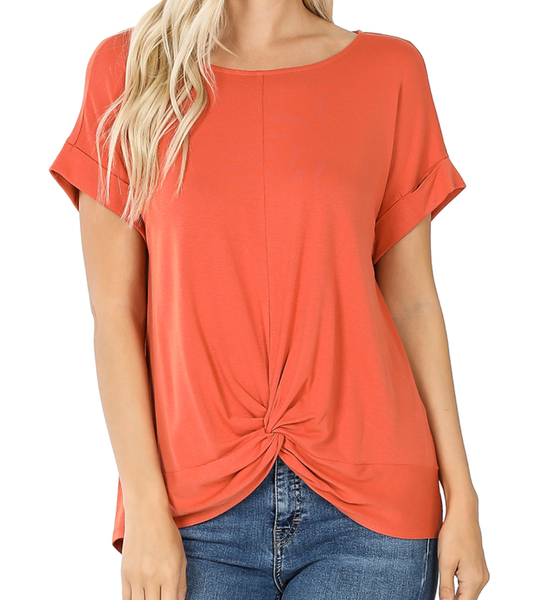 Deal of the Day! Twist Top - Ash Copper