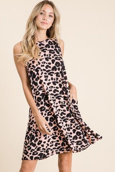 Holy Cheetah Tank Dress