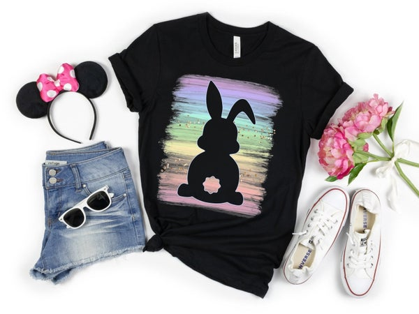 Bunny Silhouette graphic Tee