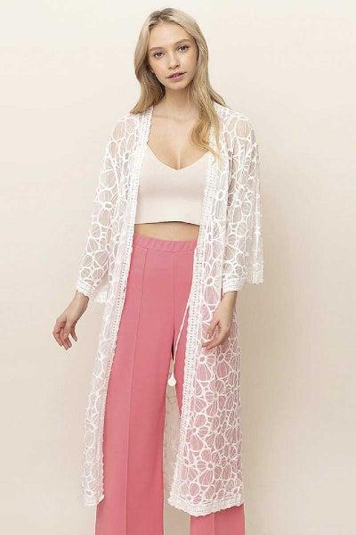 Take Your Time Lace Kimono