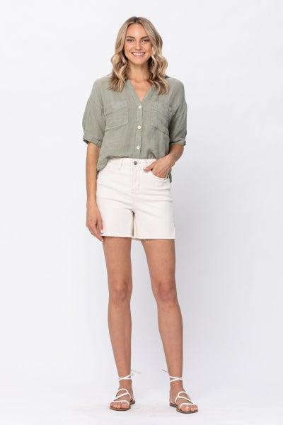 Cream of the Crop Judy Blue Shorts