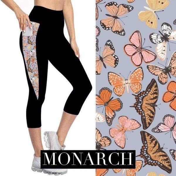 Monarch Capri Leggings