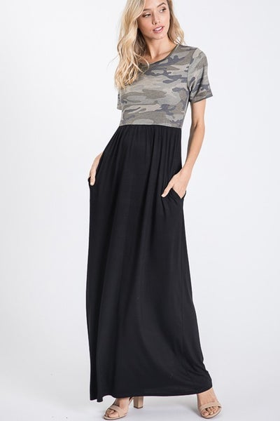 Impossible To Leave Maxi Dress