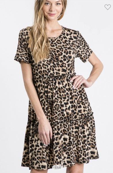 No One Like You Leopard Dress