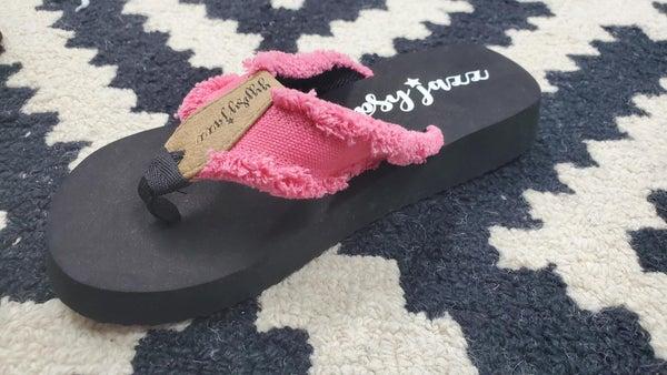 Gypsy Jazz GJazz Sandals - Pink
