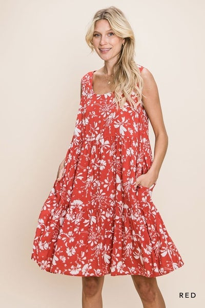 Happier Than Ever Floral Dress