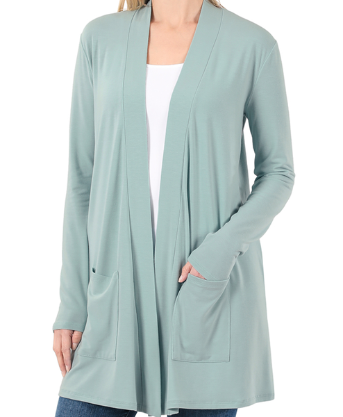 Perfection In a Cardigan - Sage