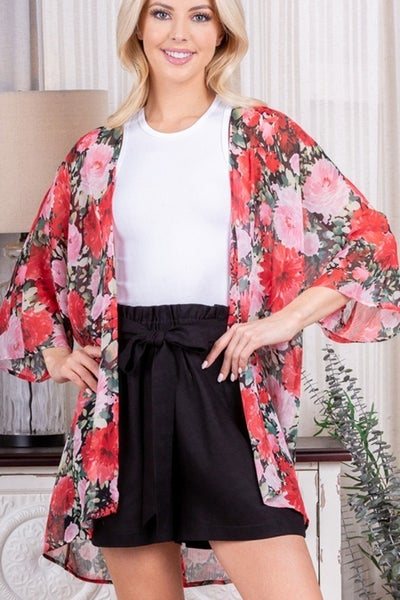Not Like the Rest Floral Kimono