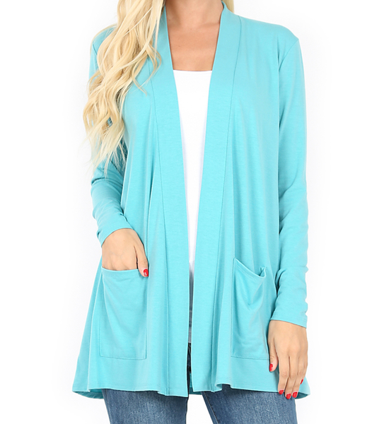 Perfection In a Cardigan - Ash Mint
