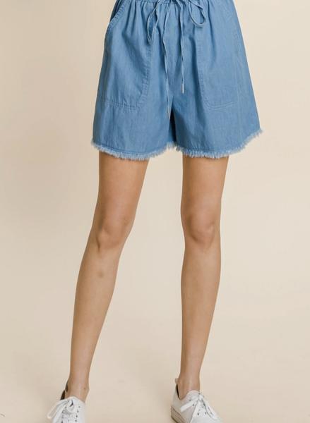 Free Time Frayed Shorts