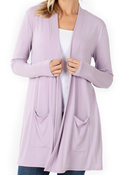 Perfection in a Cardigan - Lavender