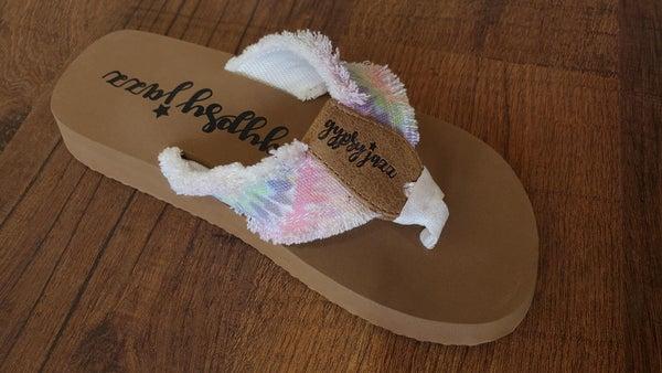 Gypsy Jazz Tie Dye Sandals