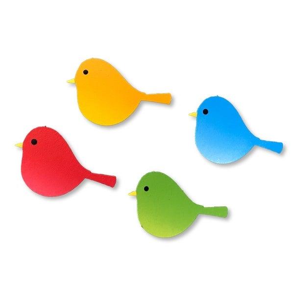 Roeda Bird Magnet Set of 4