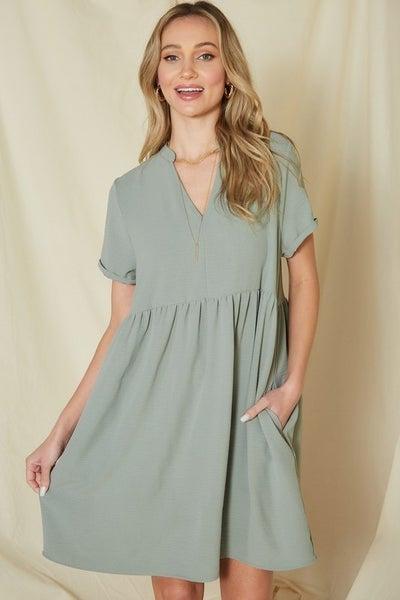 Natural Beauty Babydoll Dress