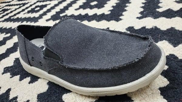 Mr. J Men's Slip-On Shoes -- Black