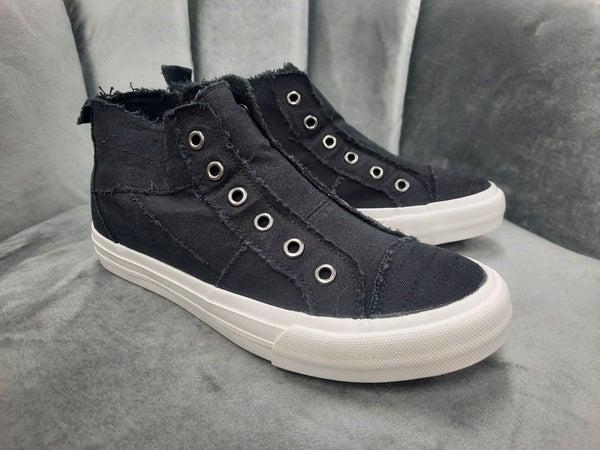 Gypsy Jazz High Top Sneakers -- Black