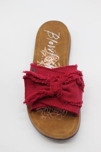 Blowfish Bow Sandal - Red