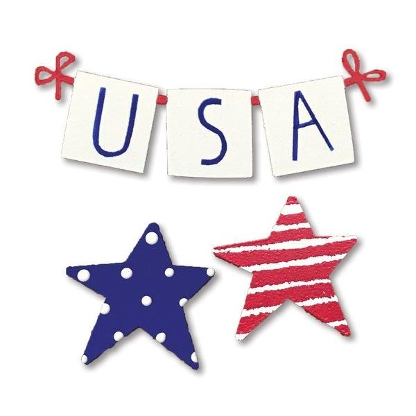Roeda USA Banner Star Magnets