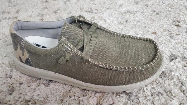Mr J David Slip On Shoes - Camo