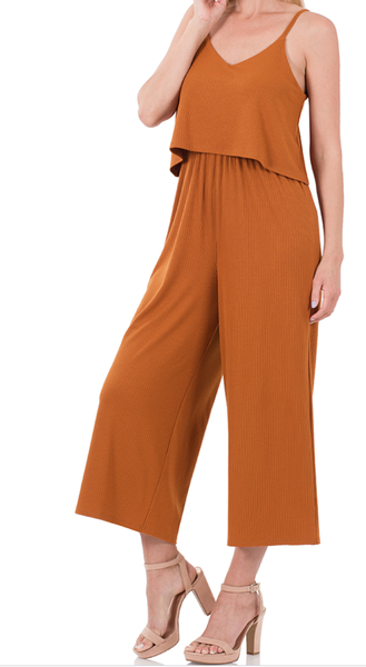 Fearless Adventure Ribbed Jumpsuit (XL)