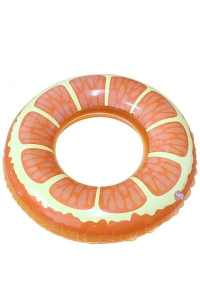 Orange Pool Floatie