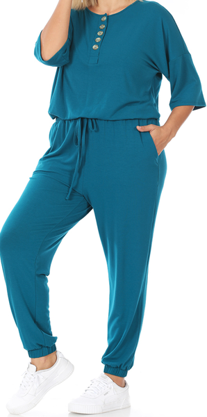 Top of the World Jogger Jumpsuit