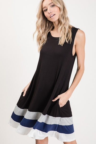 So Classic Tank Dress with Pockets