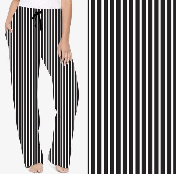 Pin Striped Jogger