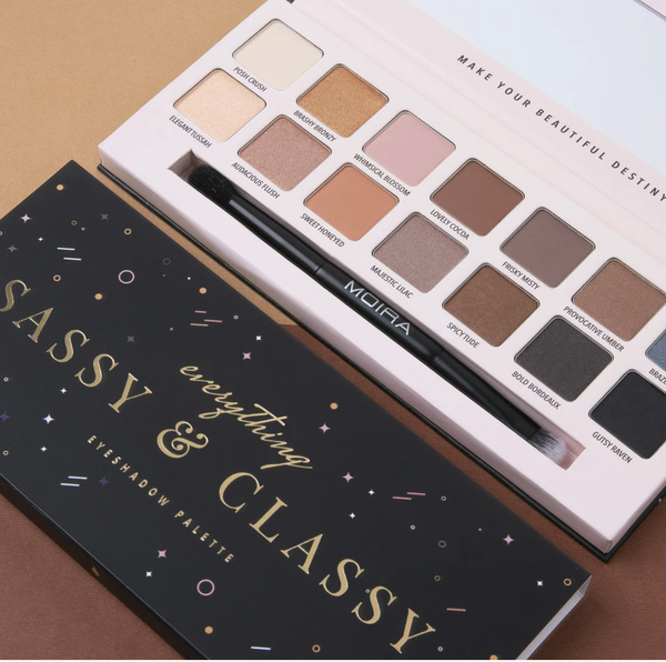 Everything Sassy and Classy Eyeshadow Palette