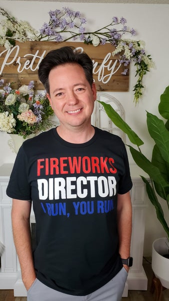 Fireworks Director Graphic Tee