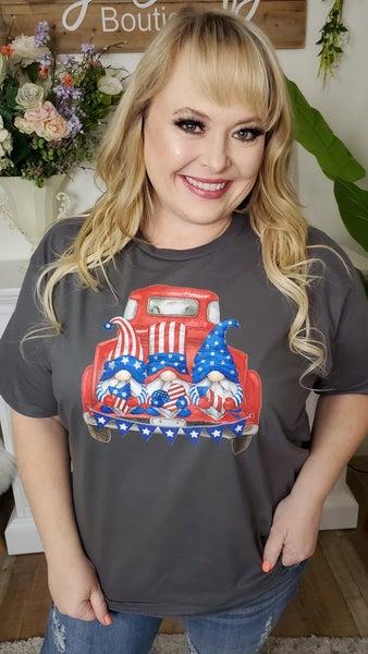 Patriotic Gnomes Graphic Tee