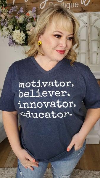 Inspire Teacher Graphic Tee