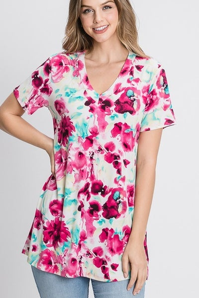 By Your Side Floral Top
